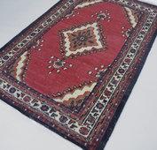 Handgeknoopt Oosters tapijt 200x130