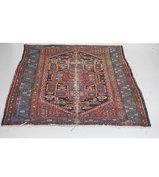 Vintage handgeknoopt Perzisch tapijt 200x135