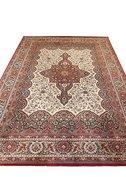 Groot vintage wollen tapijt 2,5x3,5