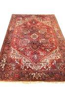 NIEUW Vintage handgeknoopt Heriz tapijt