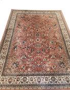 NIEUW Vintage pastelkleurig tapijt