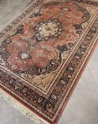 Vintage pastelkleurig tapijt