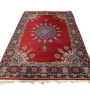 Vintage handgeknoopt Perzisch tapijt 2.65x1.85