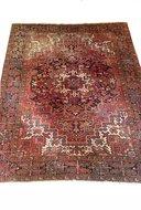VERKOCHT Vintage handgeknoopt tapijt