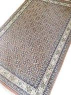 VERKOCHT Vintage pastelkleurig wollen tapijt