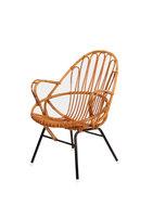 Vintage rotan Rohe stoeltje