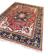 Vintage Perzisch tapijt handgeknoopt